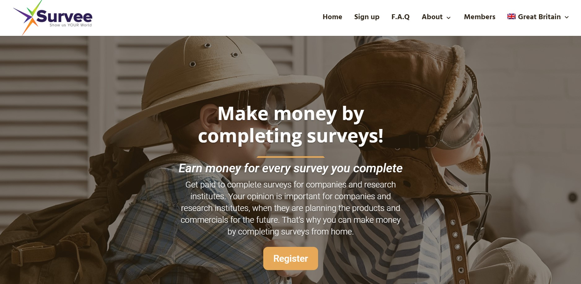 Earn money by completing online surveys from home | Survee